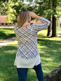 Pleasantly Plaid Tunic