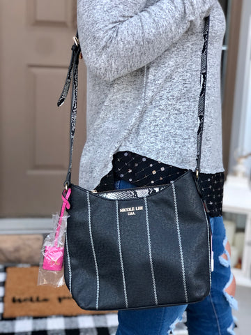 Emerson Black Crossbody