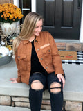 Rust Lightweight Layering Jacket