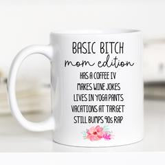 Mom Edition Mug - White Handle