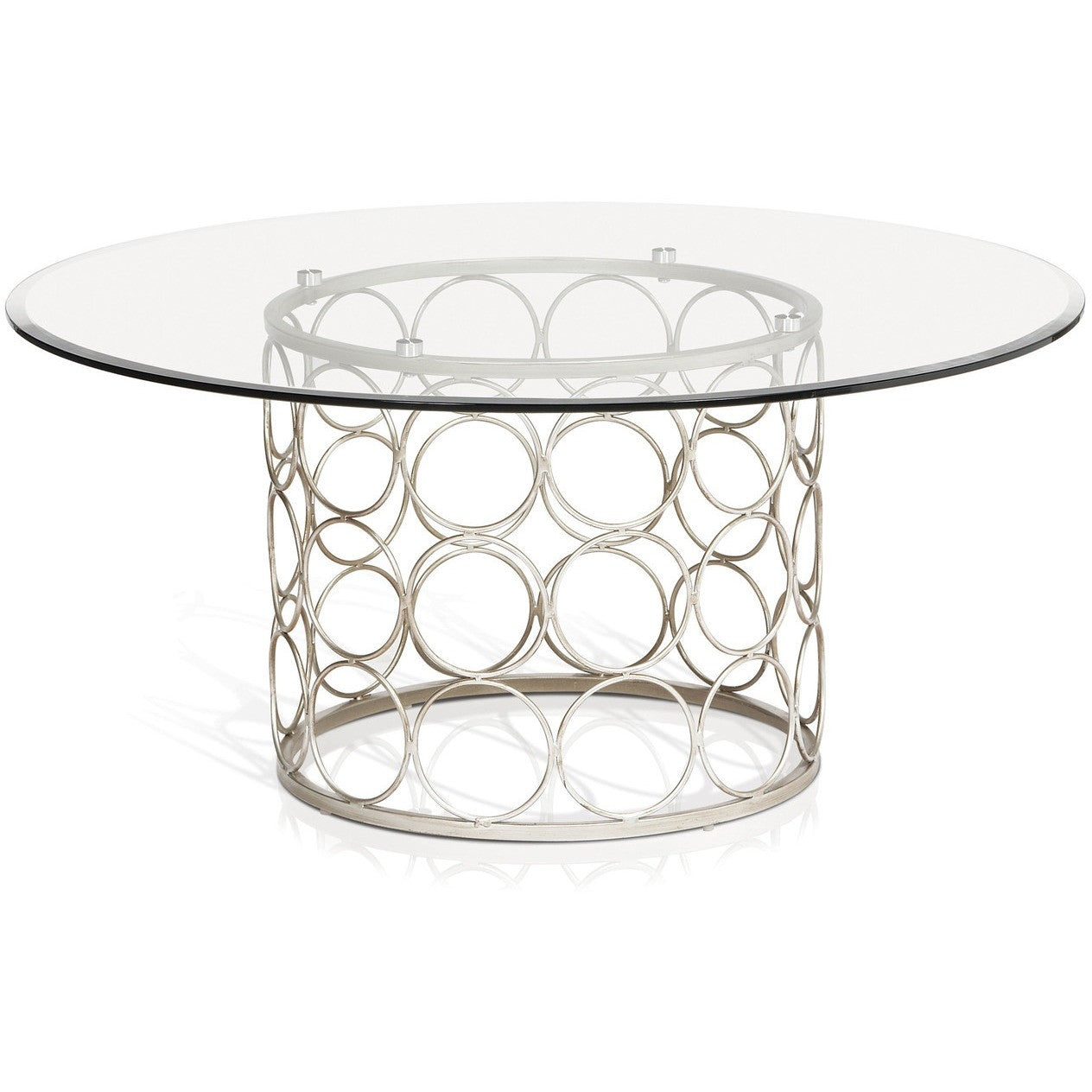 Bacall Round Glass Coffee Table Seranhome Furniture Accessories