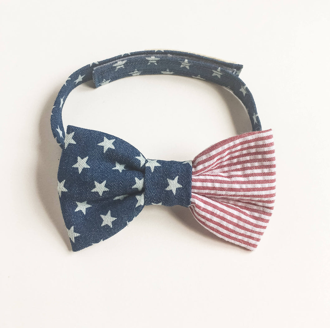 Baby boy toddler boy bowties american flag-bowties for toddler boy-patriotic baby bowties-stylish baby bowties-kawaii baby love factory ny - lovefactorynewyork