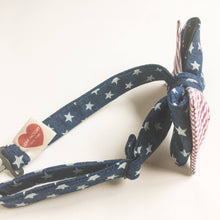 Children bowtie American flag-kids bowties patriotic-4th of july boys bowties-hipster bowties-stylish kids bowties-NY kids-Love Factory NY - lovefactorynewyork
