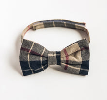 Baby boy toddler boy bow ties cotton  linen beige plaid-bowties for toddler boy-wedding baby bowties-stylish baby bowties-kawaii baby nyc - lovefactorynewyork
