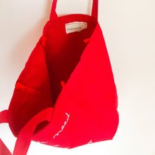 "Cotton Canvas tote ""all we need is love"" #lovefactoryny - lovefactorynewyork"