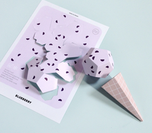 "Kawaii pop art DIY kit ""paper ice cream party"" kids toy - lovefactorynewyork"