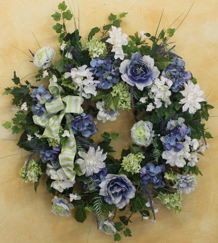 Gallery 5 - April's Garden Wreath