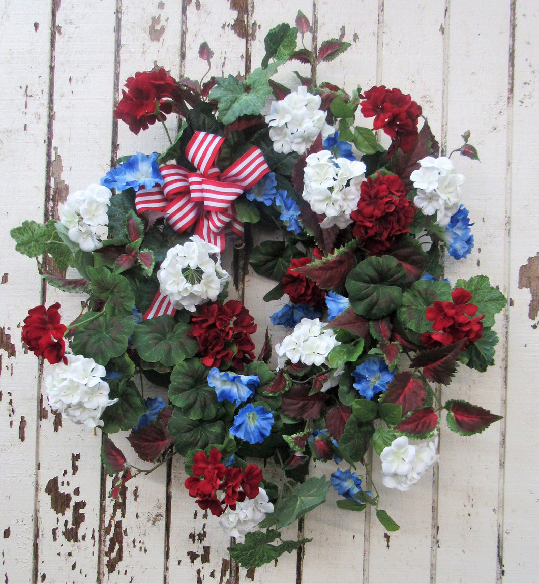 Gallery/Am01 - April's Garden Wreath
