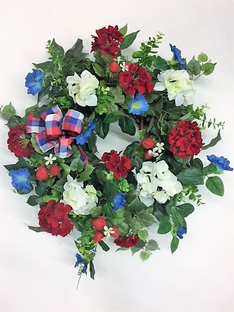Gallery /AM14 - April's Garden Wreath