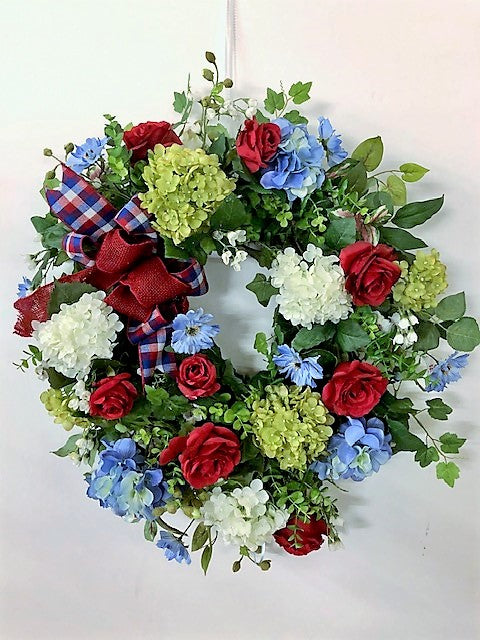 Gallery/AMC32 - April's Garden Wreath