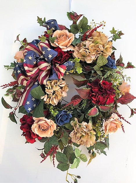 Gallery/AMC37 - April's Garden Wreath
