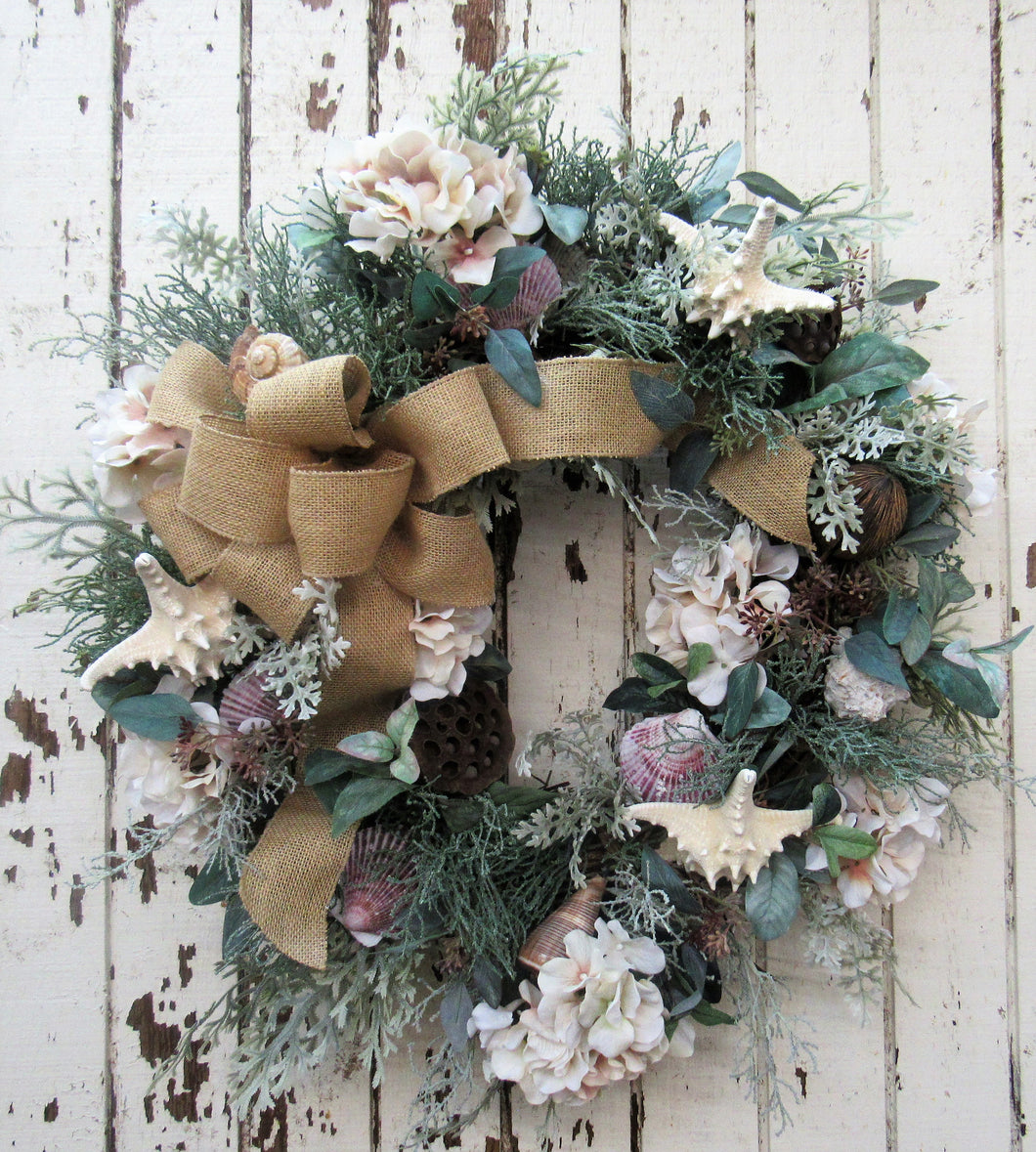 Beach Inspired Wreath/AV3 - April's Garden Wreath