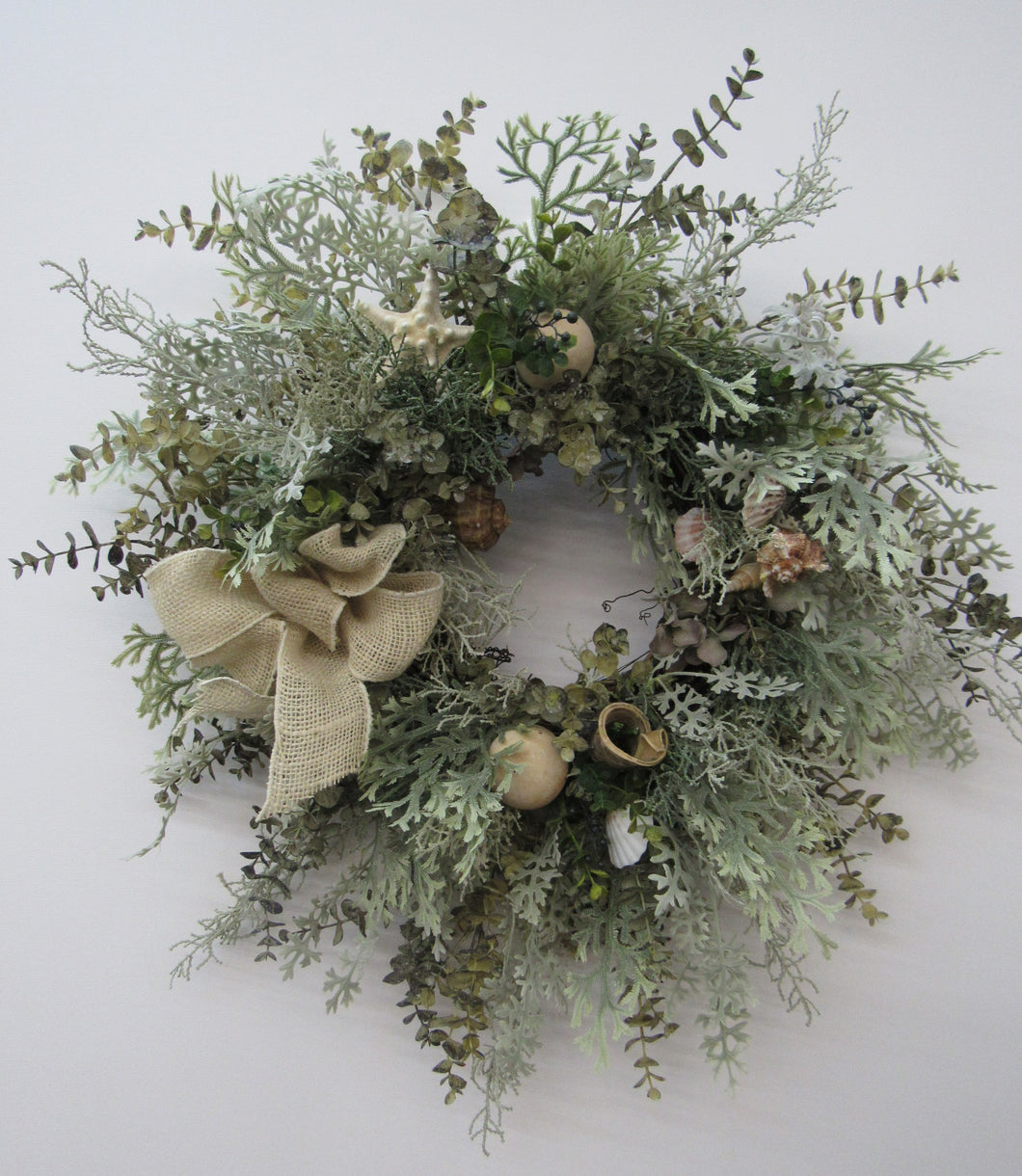 Gallery/ Av14 - April's Garden Wreath