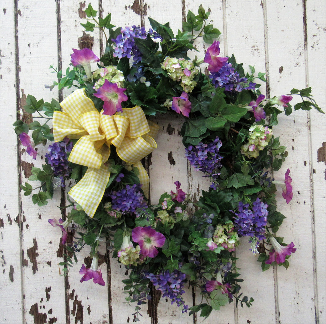 Gallery/ENG113 - April's Garden Wreath