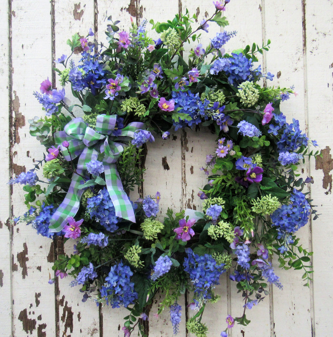 Gallery/ENG11 - April's Garden Wreath