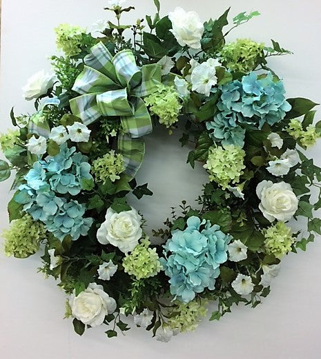 Gallery/ENG14 - April's Garden Wreath