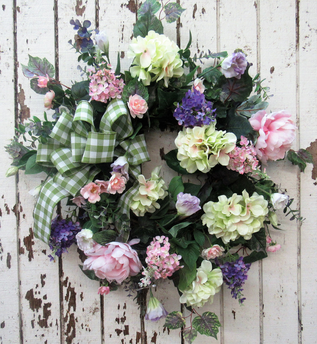Gallery/ENG19 - April's Garden Wreath