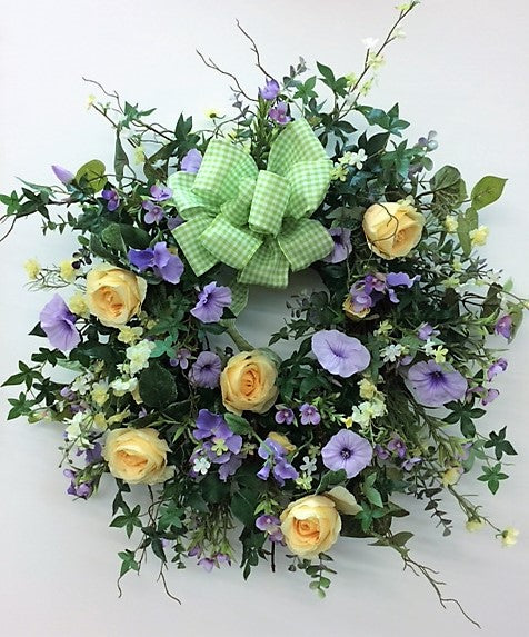 Gallery/Eng55 - April's Garden Wreath