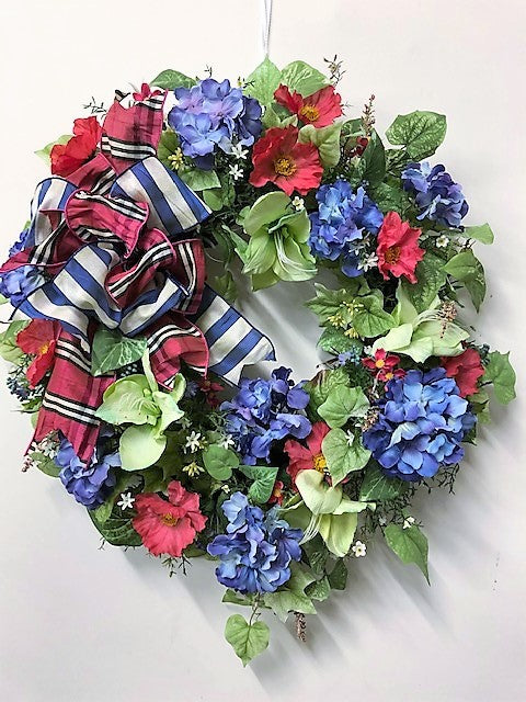 Gallery/ENG65 - April's Garden Wreath