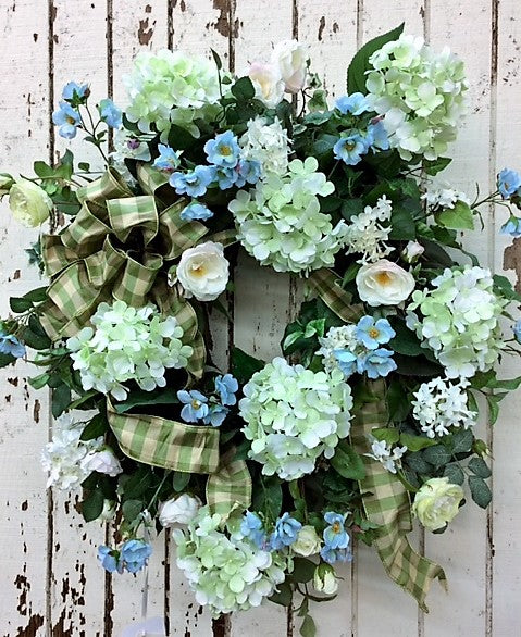 Gallery/ENG67 - April's Garden Wreath