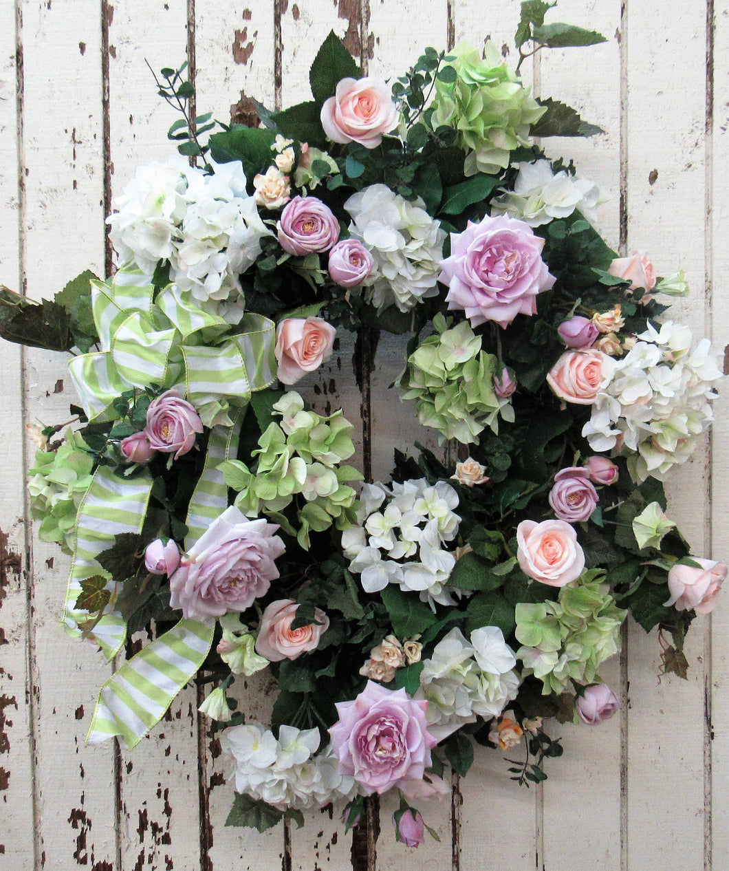 Gallery/ENG87 - April's Garden Wreath