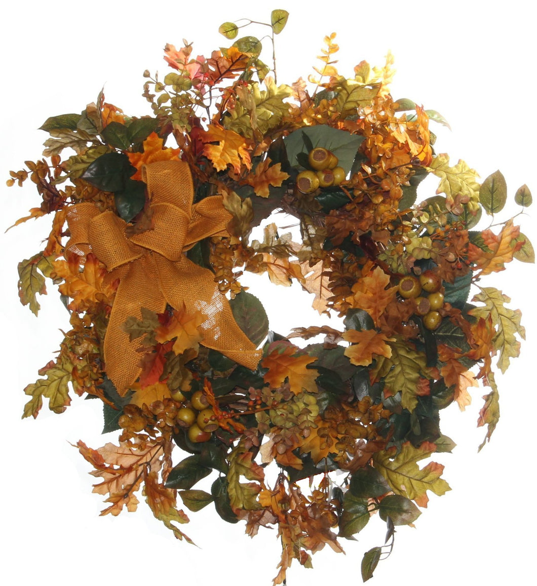 Fall Harvest Wreath/HARV03 - April's Garden Wreath