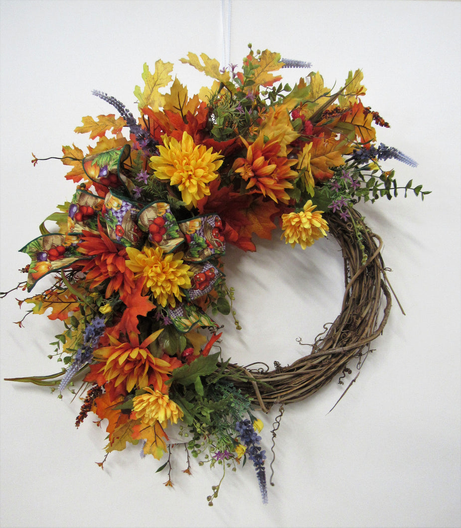 Gallery/Harv84 - April's Garden Wreath