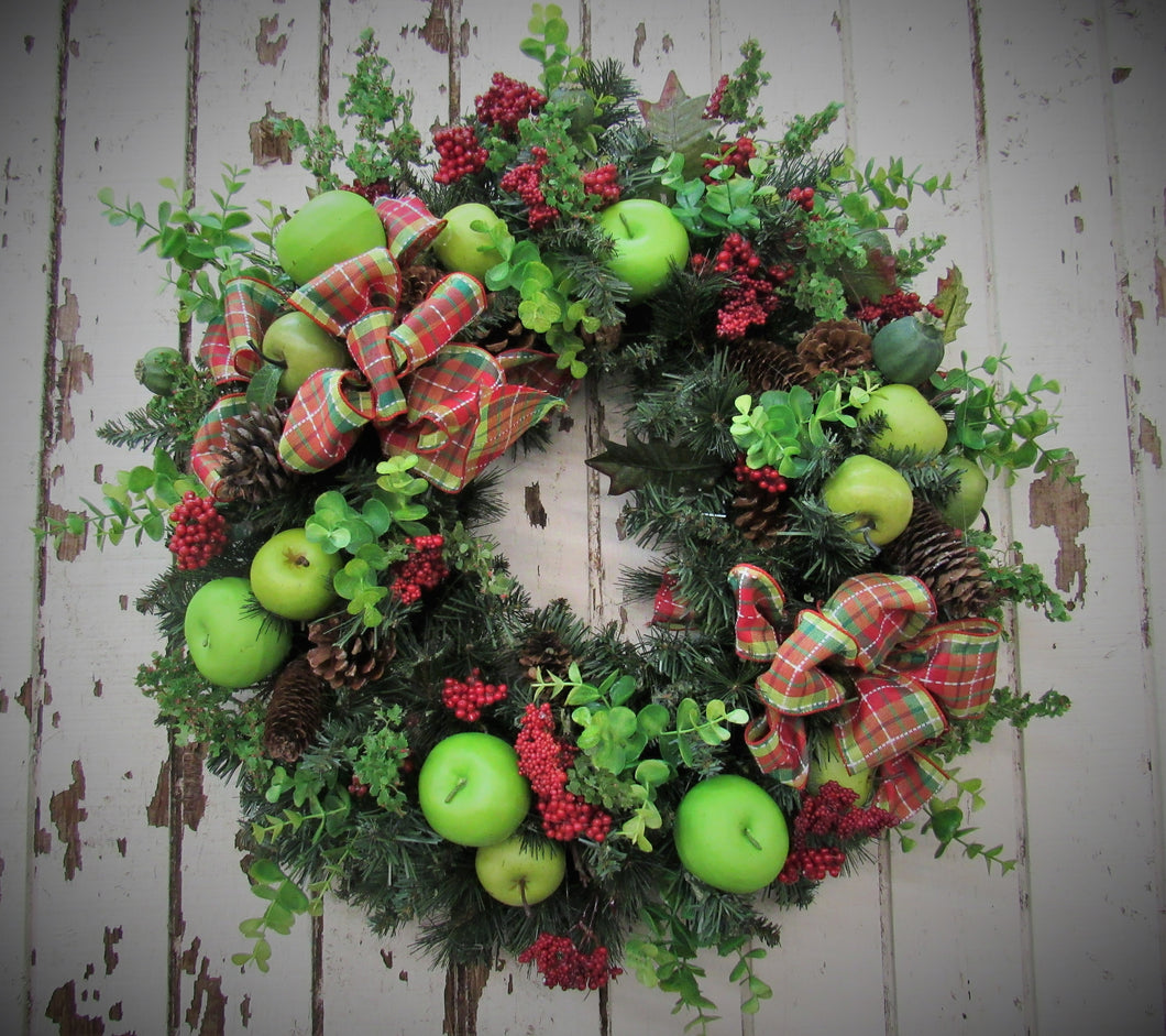 Gallery/Hol 65 - April's Garden Wreath