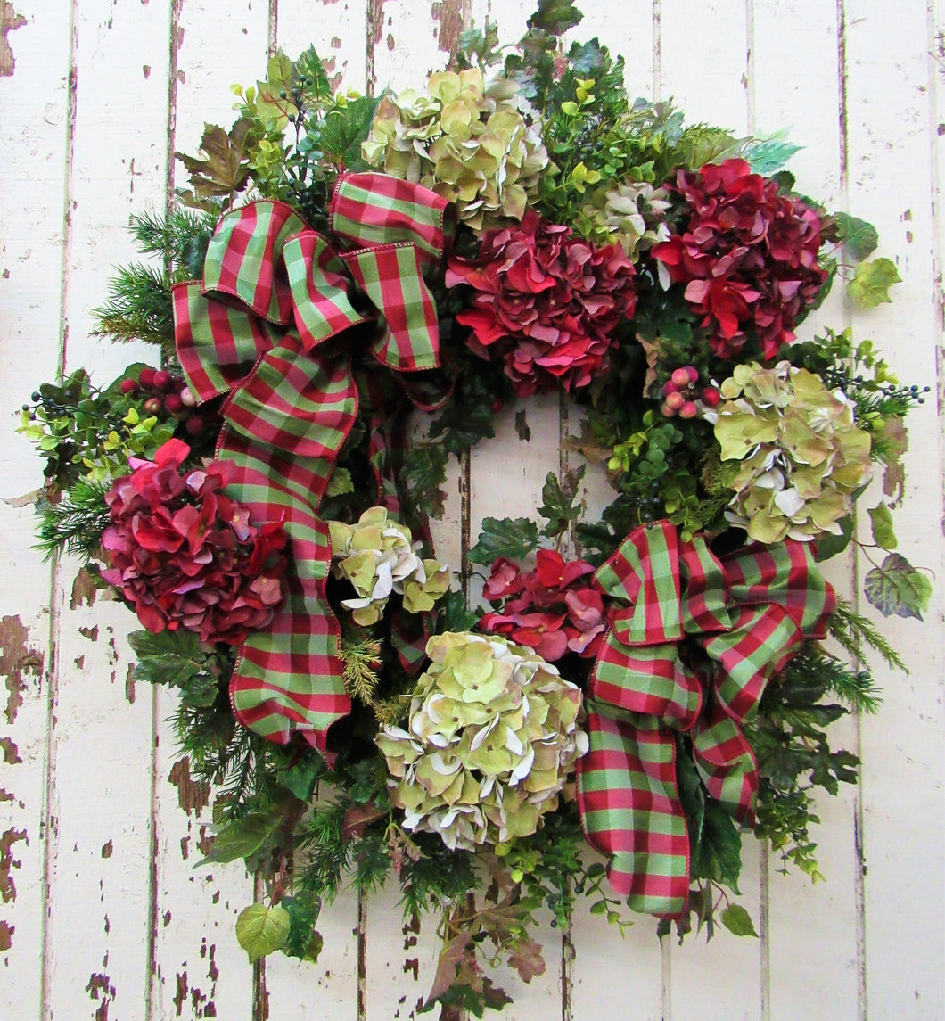 Gallery/ Hol 80 - April's Garden Wreath