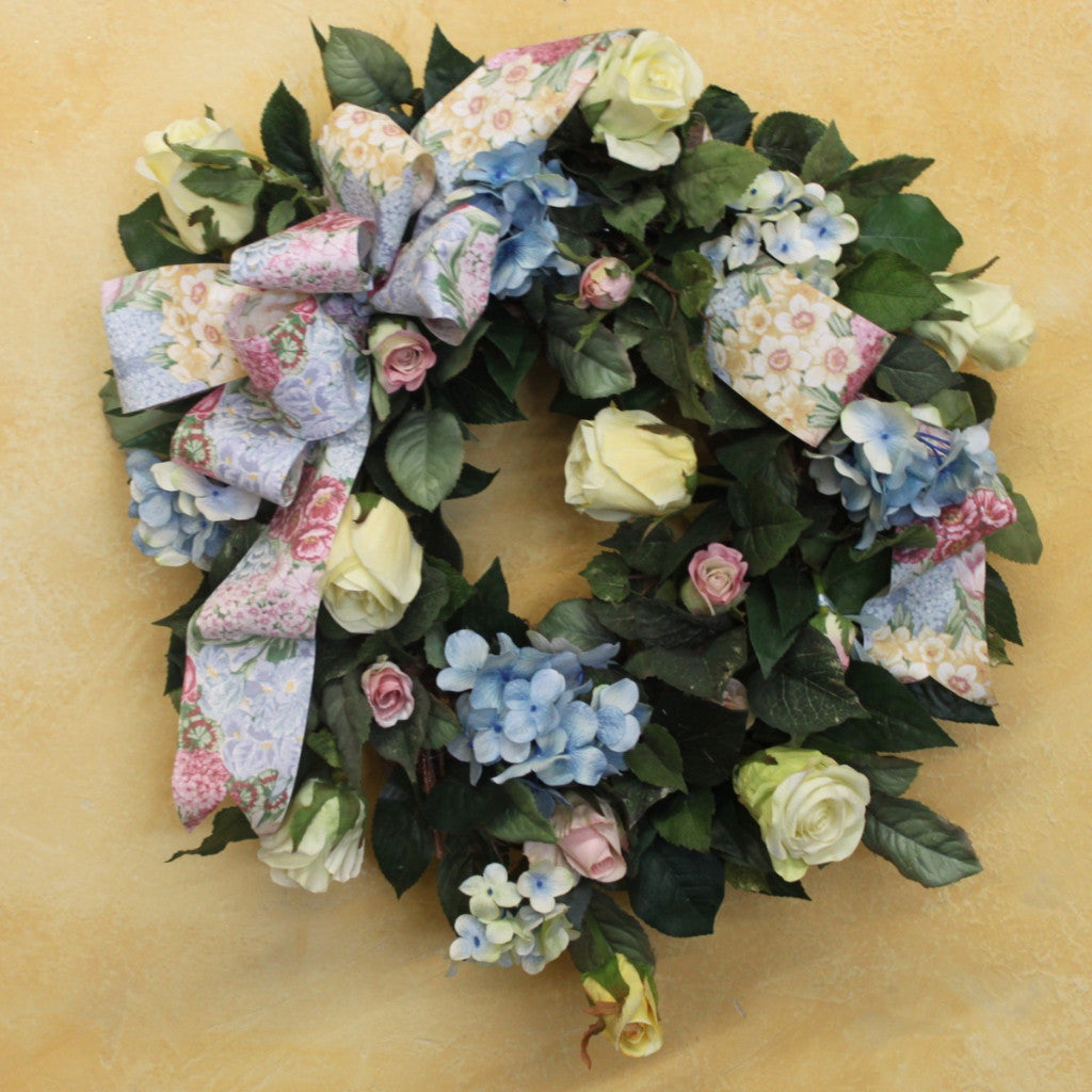 Gallerys SPW28 - April's Garden Wreath