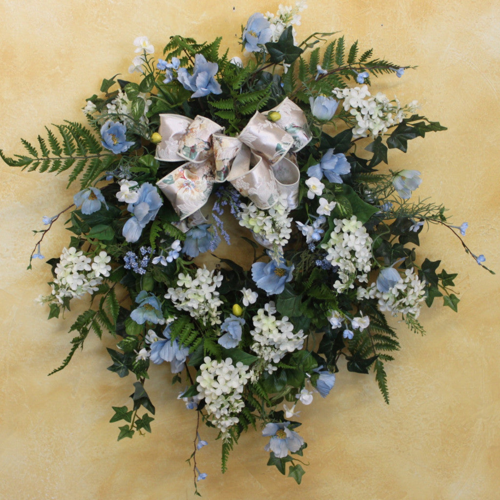 Gallery SPW42.5 - April's Garden Wreath
