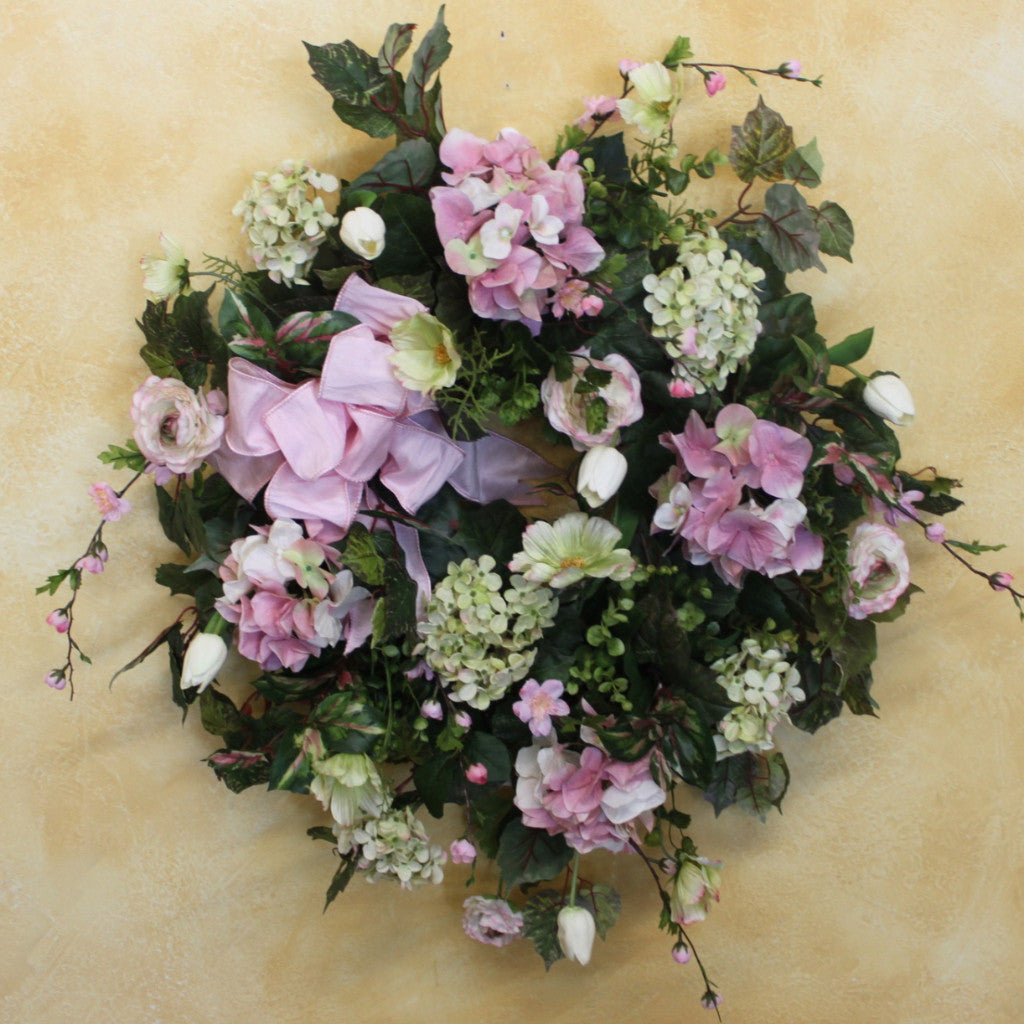 Gallery/Spw43 - April's Garden Wreath