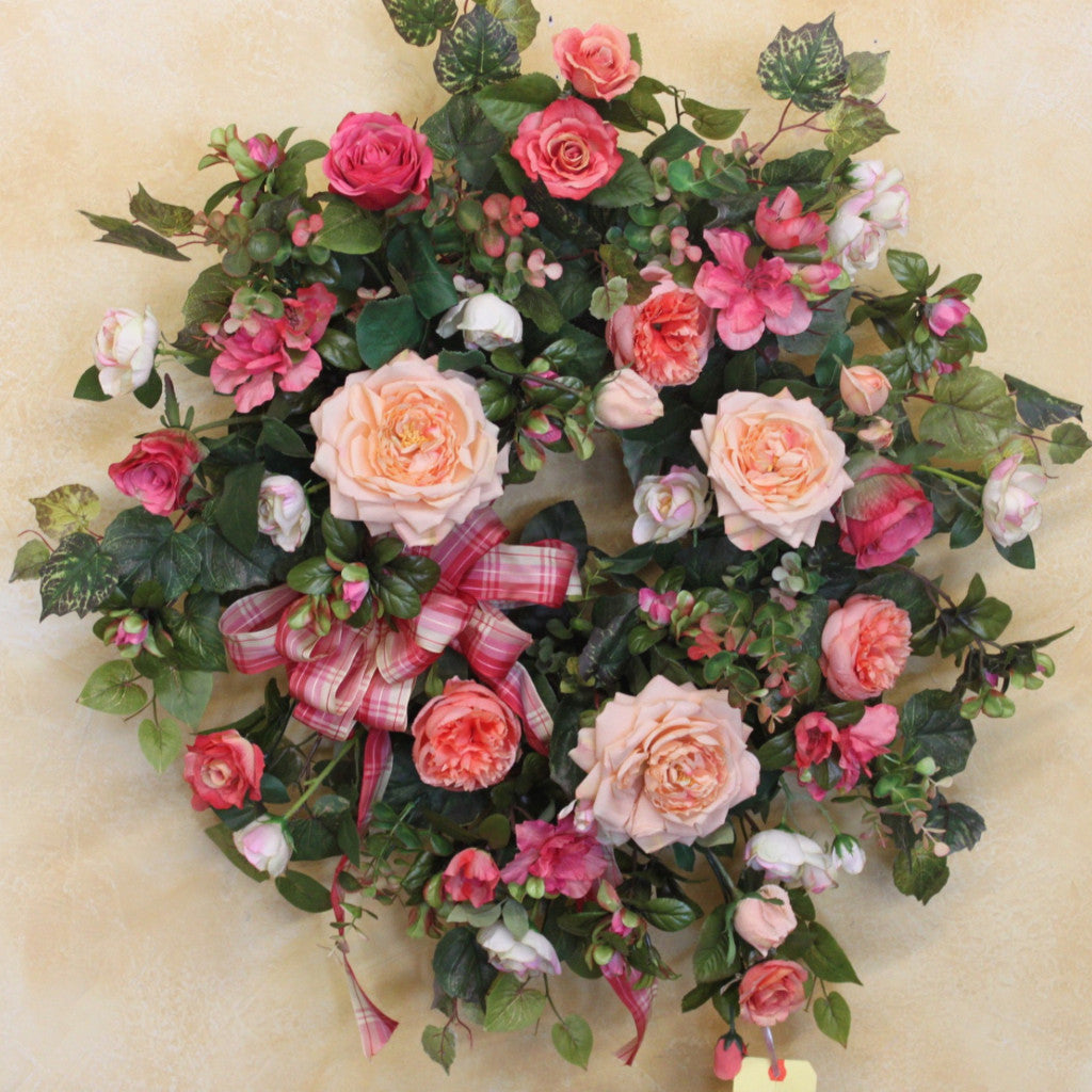 Gallery SPW54 - April's Garden Wreath