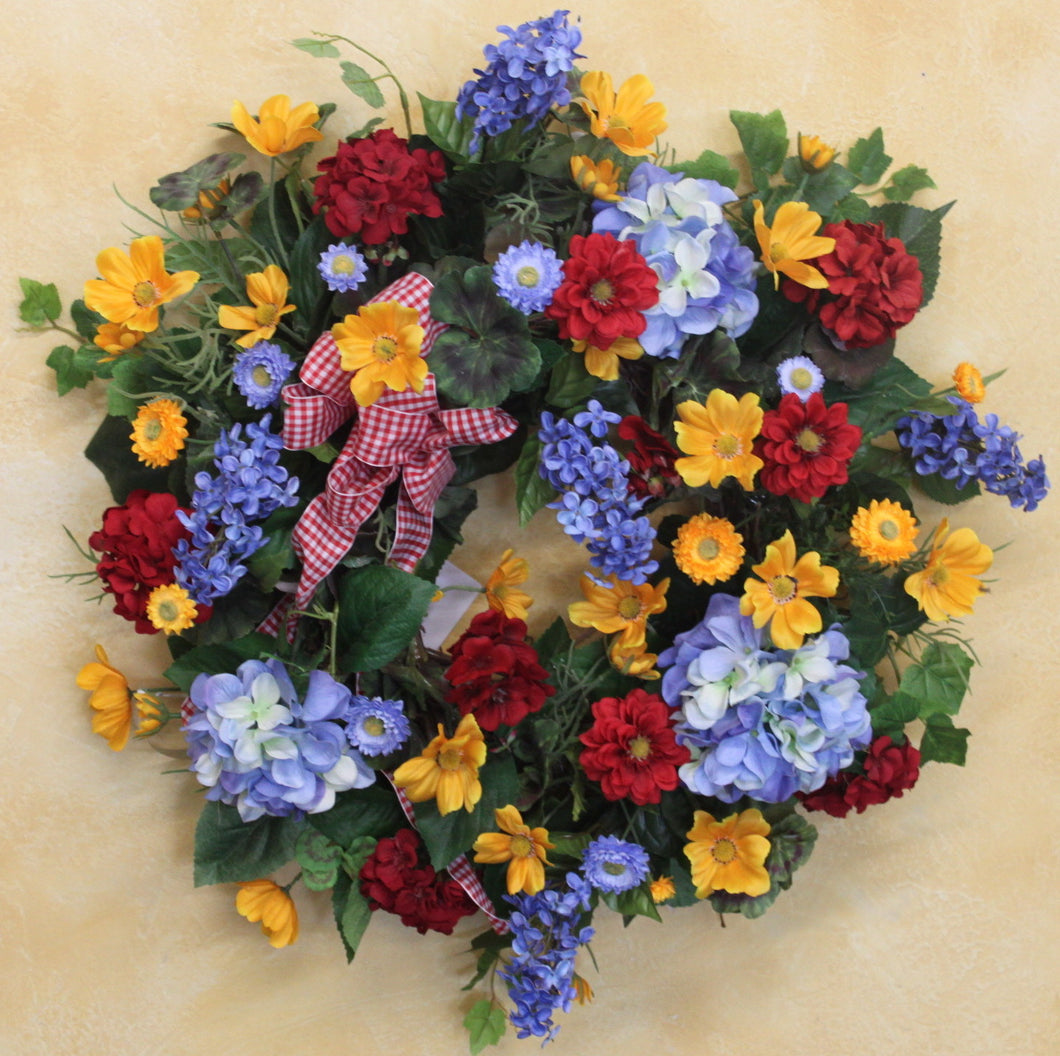 Gallery SMW05 - April's Garden Wreath
