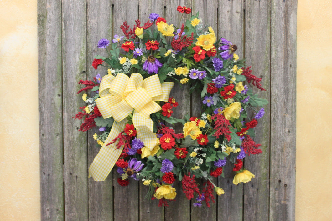 Gallerys SMW35 - April's Garden Wreath