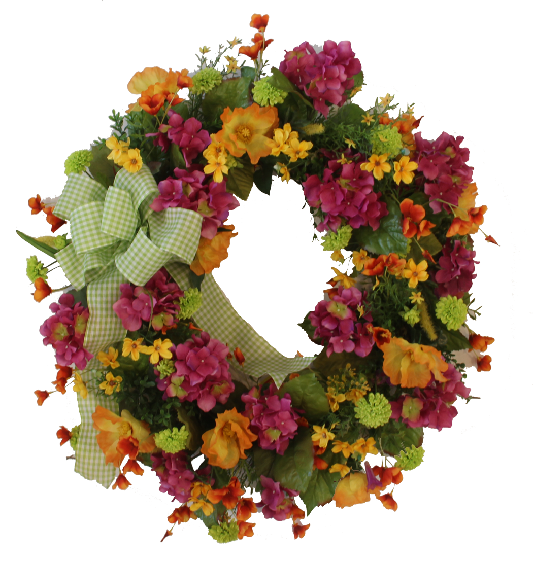 Gallery/SMW08 - April's Garden Wreath