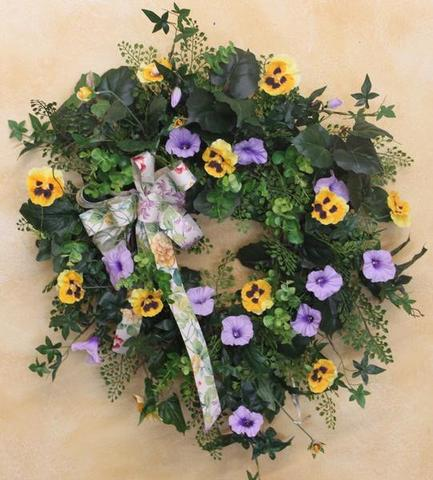 Gallery SMW102 - April's Garden Wreath