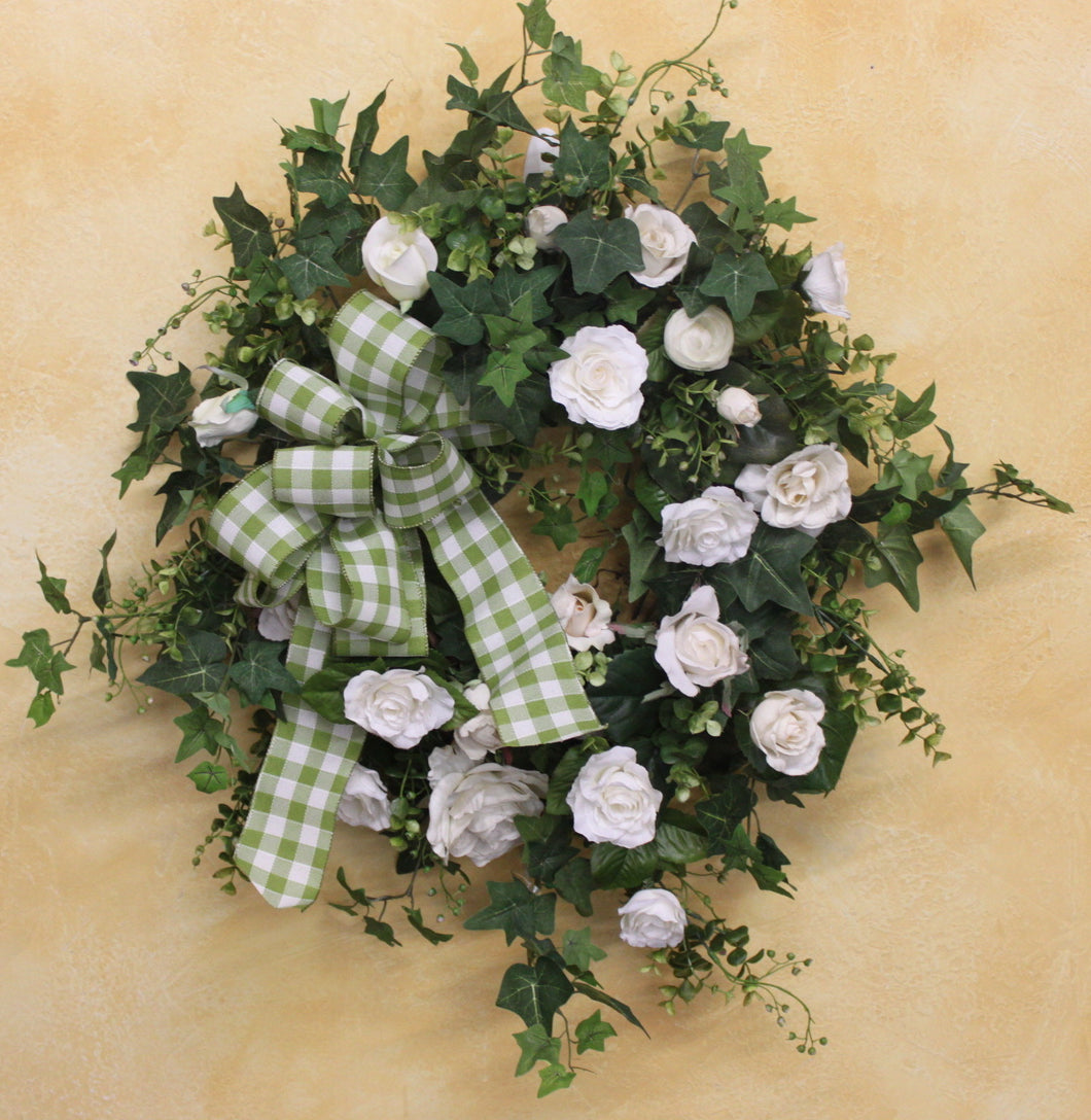 Gallerys SMW22 - April's Garden Wreath