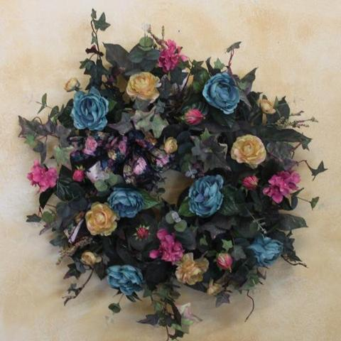 Gallery SPW41 - April's Garden Wreath