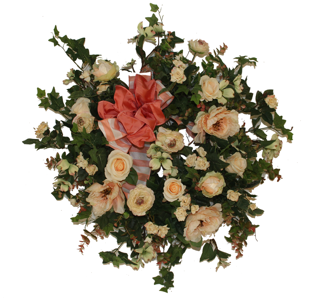 Gallery/SPW71 - April's Garden Wreath