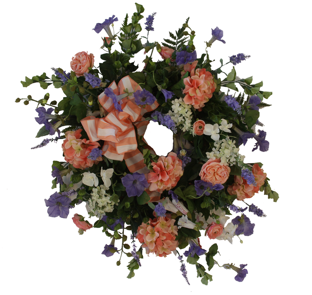 Gallery SPW84 - April's Garden Wreath
