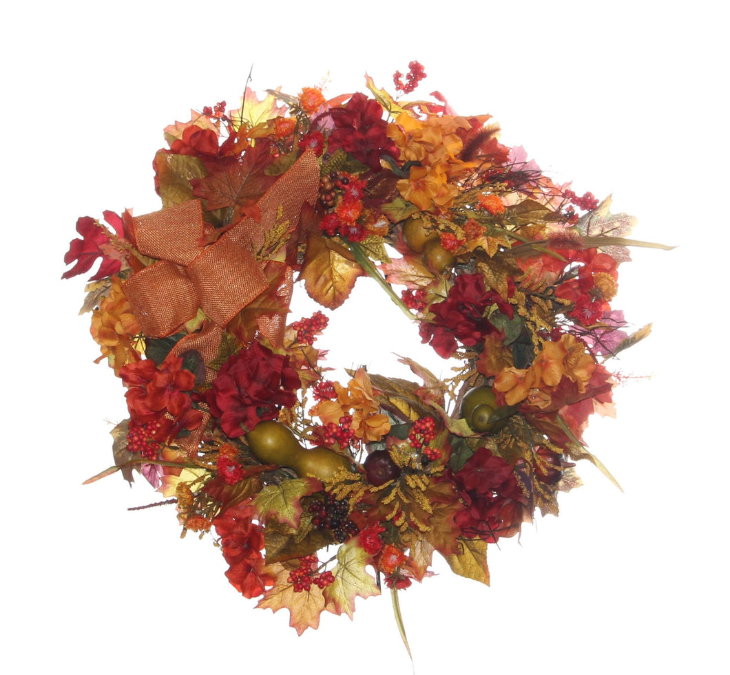 Fall Harvest Wreath/HARV18 - April's Garden Wreath