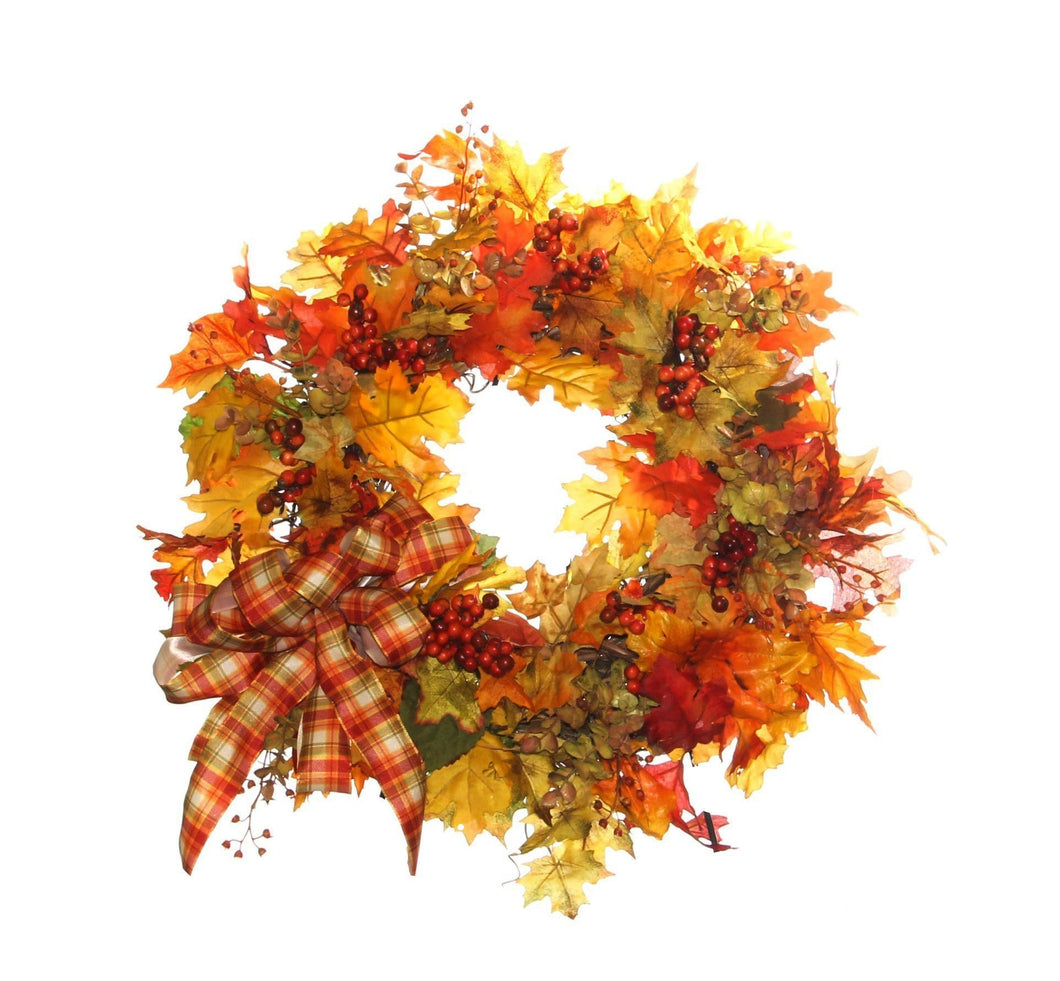Fall Harvest Wreath/HARV40 - April's Garden