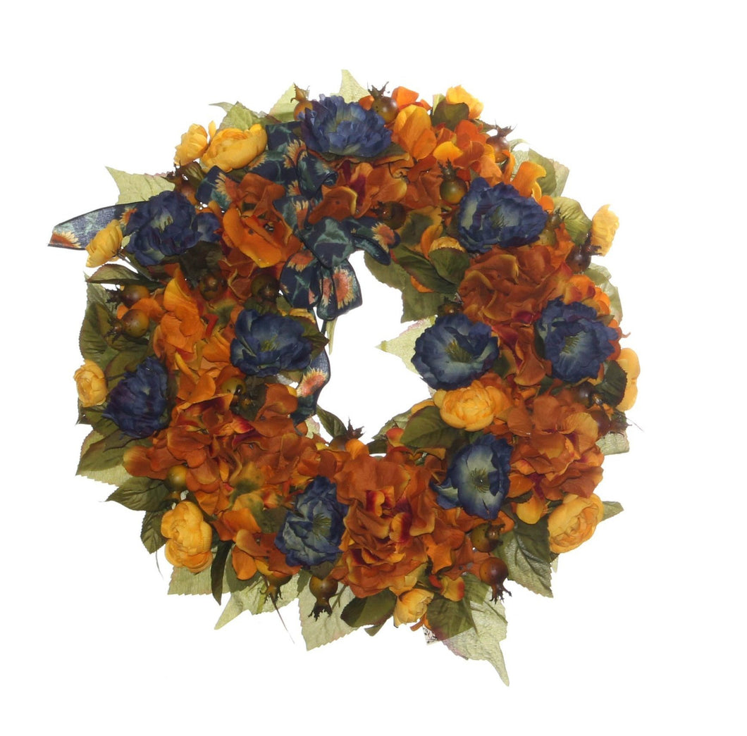 Fall Harvest Wreath/HARV20 - April's Garden Wreath