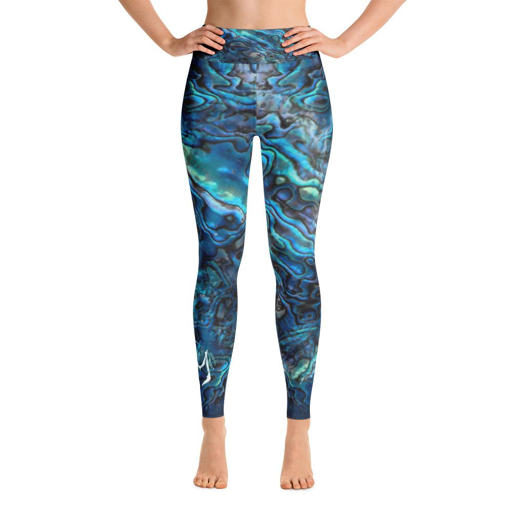 Abalone Obsessed Leggings 'Blue'
