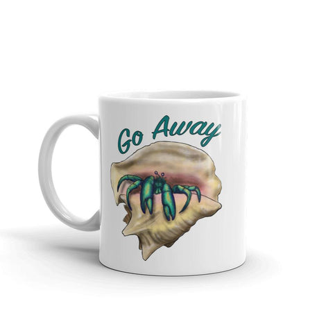 Go Way Hermit Crab Coffee Mug