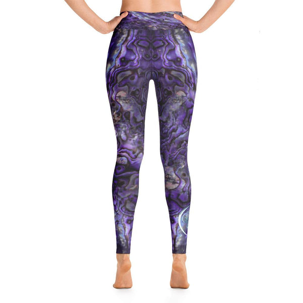Abalone Obsessed Leggings 'Purple'