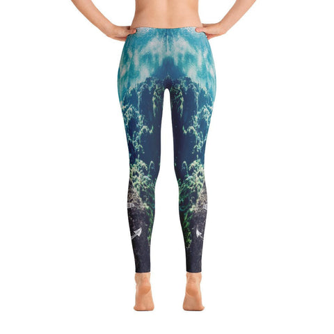 Aqua Jewel Leggings