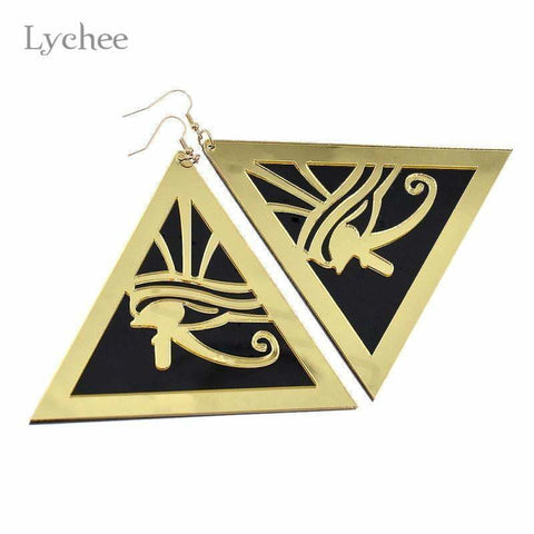 Egypt Horus Eyes Dangle Earrings - Jewelry