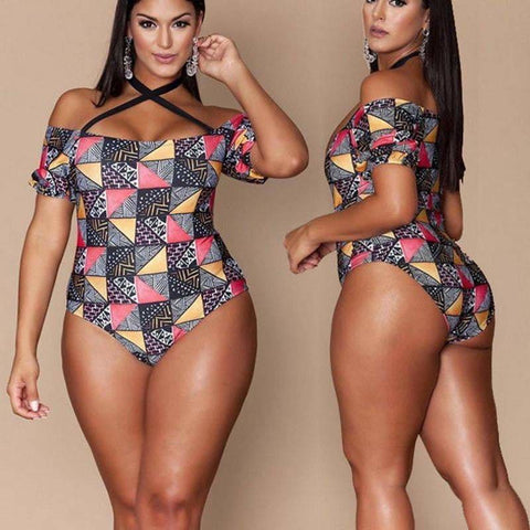Yandy Brazilian One piece Swimsuit - Bathing Suits